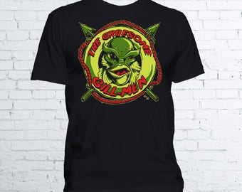 The Gruesome Gill-Men T Shirt - Creature from The Black Lagoon Universal Monsters Gillman Horror T Shirt - Available in Mens and Ladies Fit