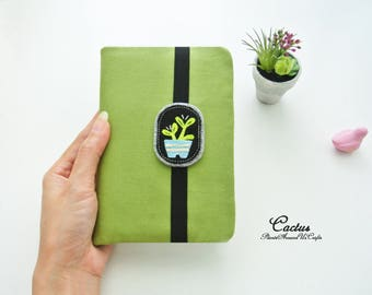 Cactus Lovers (B) Passport Wallet - Plain&Solid, Fabric Travel Wallet, Travel Document Holder, Family Passport Holder, Made to Order