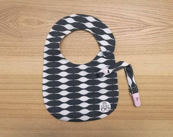 Bib and Pacifier Pack. Nordic-Pink
