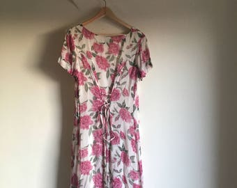 Vintage 90s Monsoon Grunge Dress
