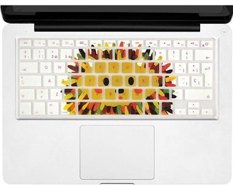 """Keyboard Cover Skin MacBook Air 13 and MacBook Pro 13"""" 15"""" 17"""" (with or w/out Retina,Not Fit 2016 Macbook Pro 13 15 with/without Touch Bar)"""