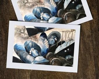 Big Mussels Greeting Card
