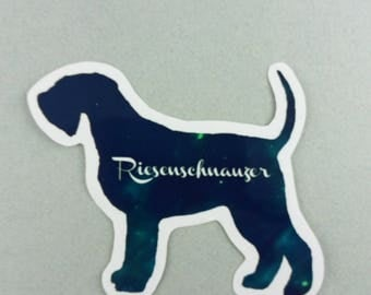 "Big sticker ""Giant Schnauzer"""