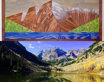 Custom Mountain Landscape of your choosing