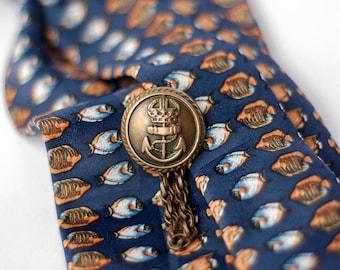 Fish Pattern Ladies Necktie, Women ties, Scarves, Necklaces, Neckwear