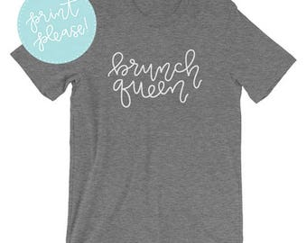 Brunch Queen Short-Sleeve Unisex T-Shirt
