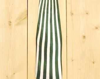Vintage 1930's/40's Necktie / Green Stripes / A Bluestone Tie / Retro Collectable Rare