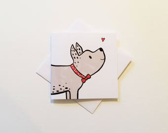 Puppy Love Greetings Card