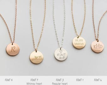 15 necklaces with special meaning for her initial necklace image source aloadofball Images