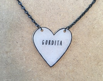 Gordita : Heart-Shaped Necklace