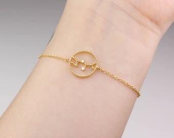 Sagittarius bracelet, zodiac jewelry, horoscope bracelet, Sagittarius jewelry, horoscope jewelry, Sagittarius star sign, best friend gift