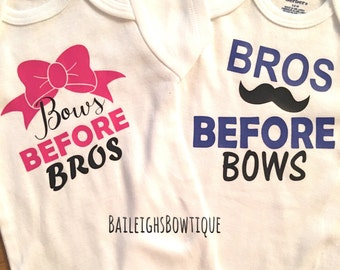 Bros before bows, Bows before bros