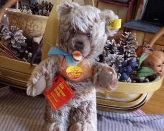 "Steiff standing Zotty Bear. 10"" tall ear tag 0305/22"