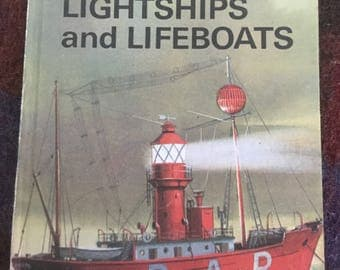 Vintage Ladybird Book - The Story of Lighthouses, Lightships and Lifeboats