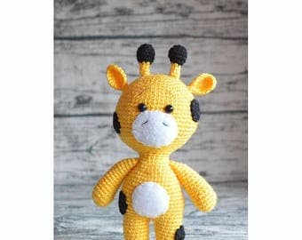 FREE SHIPPING!!! Giraffe - amigurumi crochet toy