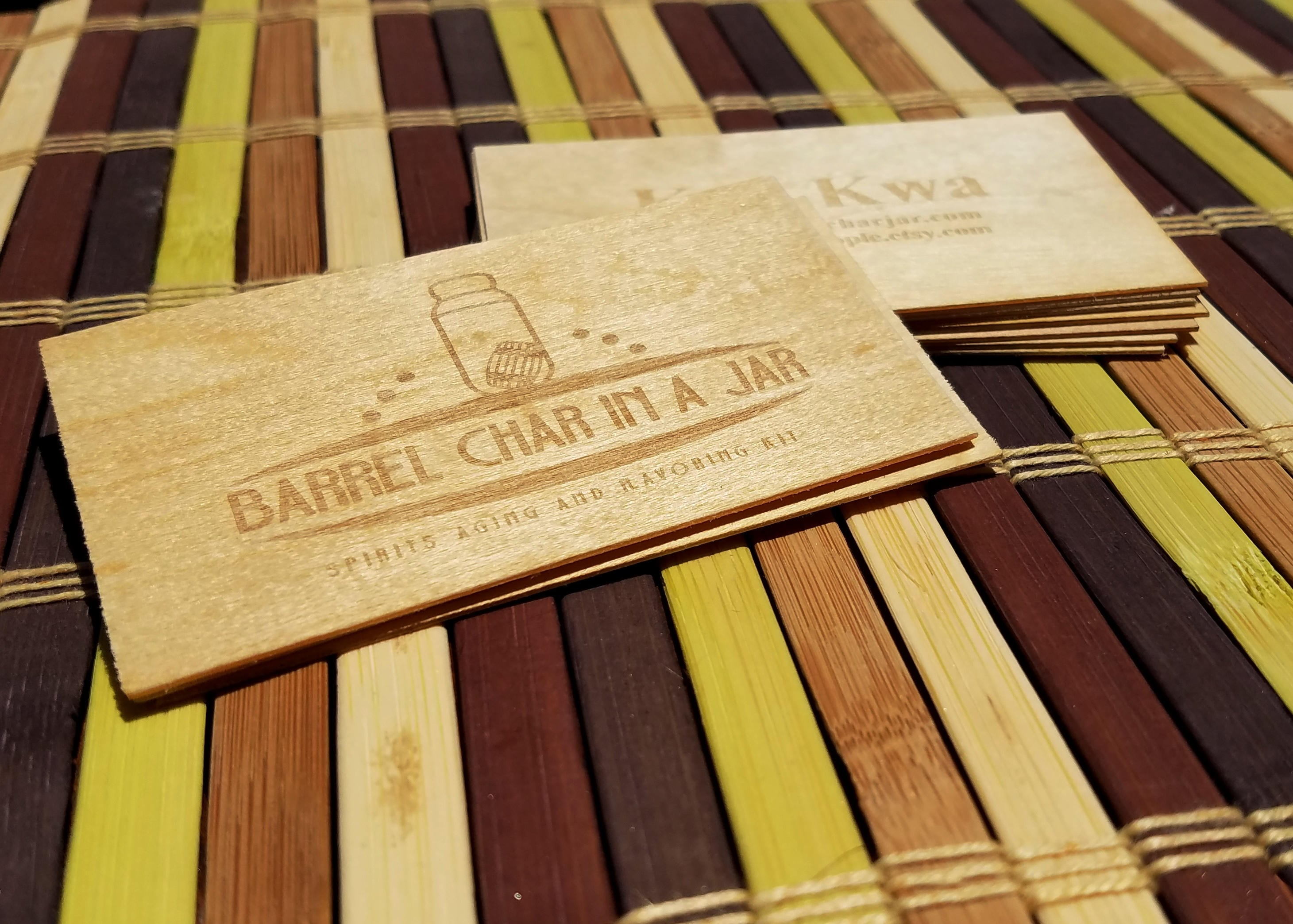 business cards double sided wood business cards laser engraved