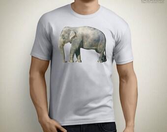 Lonely elephant - Animal T-Shirt