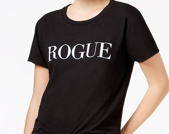 Rogue funny vogue spoof ladies t-shirt