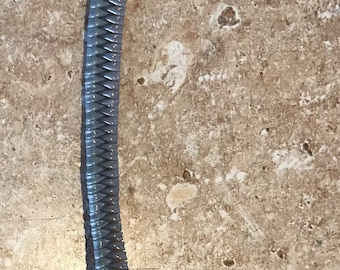 Zipper keychain gimp with hook