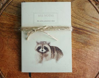 Raccoon Craft Notebook