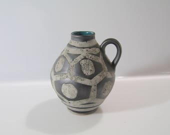 Stunning vase by Carstens - No: 1522-14, West German Pottery, WGP, Fat Lava