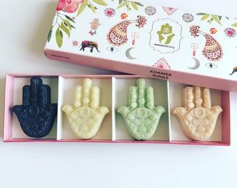 Oneness Khamsa soap gift box
