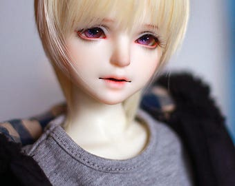 ShouShou Doll 1/4 Goudan Jr. BJD Head | Handmade Artist Doll