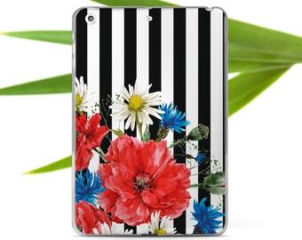 Flowers Case iPad Case iPad Air 2 Case Stripes iPad Mini 2 Case Smart Cover iPad Mini 4 Case Smart Cover iPad Pro 9.7 Case Leather Case i011