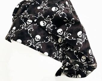 Skully Bouffant Scrub Hat, Scrub Cap, Surgical Scrub Hat, OR Hats, Scrub Hats for Women, ORHatsByBonita, Surgical Scrub Caps