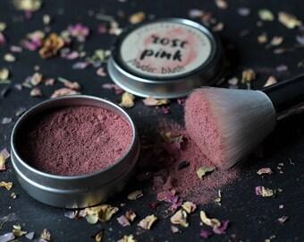Rose Pink Blush - Organic Makeup - Organic Cosmetics - Organic Blush - Vegan Blush