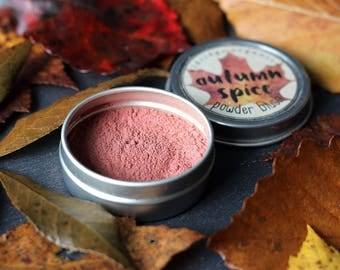 Autumn Spice Blush - Organic Makeup - Organic Cosmetics - Organic Blush - Vegan Blush