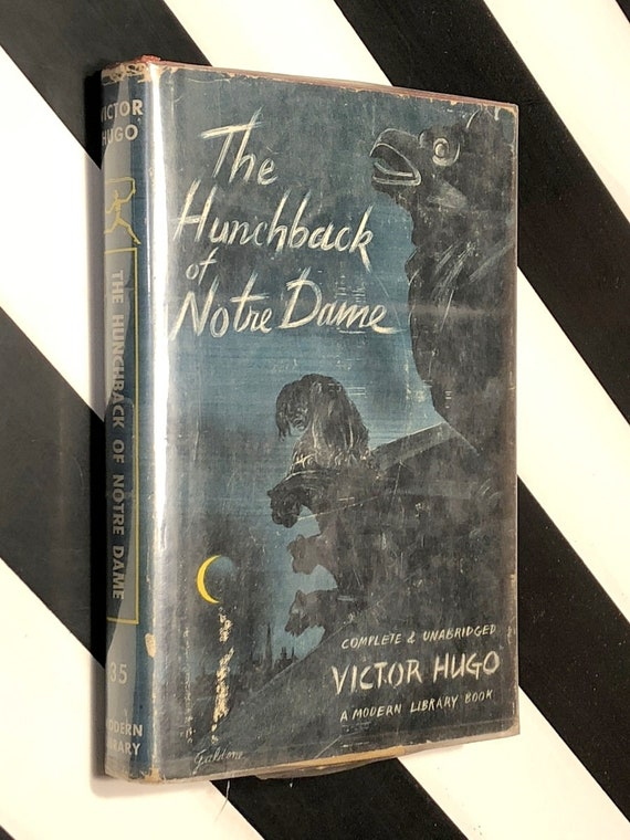 The Hunchback of Notre Dame (1941) Modern Library hardcover book