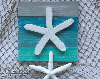 Starfish Beach  Wall Art Coastal Decor