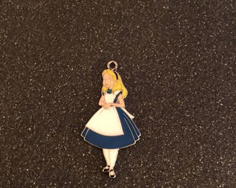 Alice in Wonderland charm