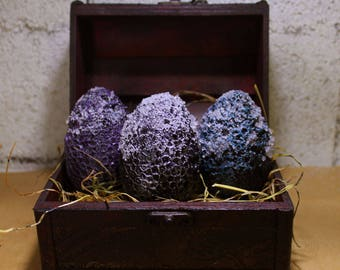 Frozen Dragon Eggs The Night Side. Game of Thrones. Dragon babies.