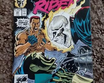 ghost rider #20//marvel comics//fine/very fine//1991