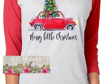 Christmas tree shirt | Etsy