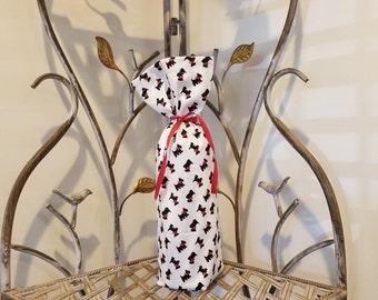 Scottie Wine Bag / Scottish Terrier Wine Bag