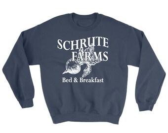 Schrute Farms Sweatshirt - Schrute Beet Farm- Dwight Schrute Shirt - The Office Shirt - Jim Halpert - Michael Scott - schrute farms beets