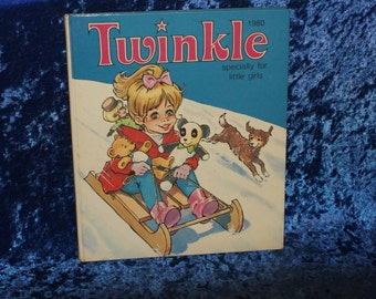 Twinkle Specially for Little Girls 1980 Annual