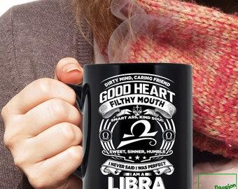 Libra Mug, Libra Zodiac Mug, Libra Astrology Mug, Libra Astrology Birthday Gift, Libra Zodiac Sign, Libra Horoscope Astrology Mug, TP5002M