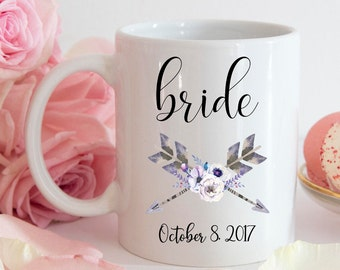 Bride Coffee Mug   Bride Coffee Cup   Bride Mug   Wedding Mugs   Gift for Bride   Bride to Be Coffee Mug   Personalized Bride Mug