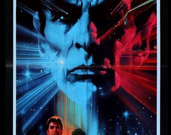 Star Trek III: The Search for Spock (1984) Original French Movie Poster
