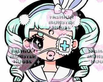 BunnyChan (Sticker)