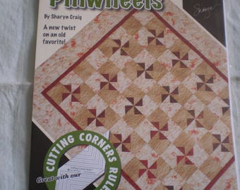 Quilt Pattern- Partial to Pinwheels by Sharyn Craig
