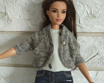 Barbie clothes - jacket for curvy Barbie