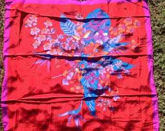 Silk scarf Singapore Airlines
