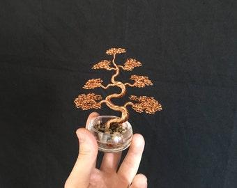 Small Upright/Informal Bonsai Wire Sculpture
