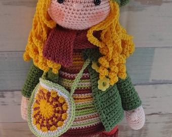 Hand made crochet dolls. Hand made toys. Stuffed toys.