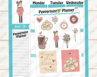 Enjoy the little things --- Planner Stickers --- 637